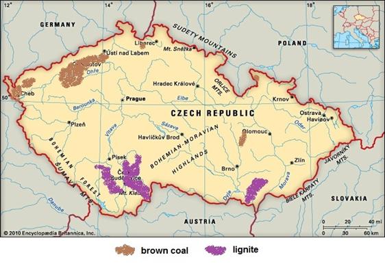 czechy-mapka